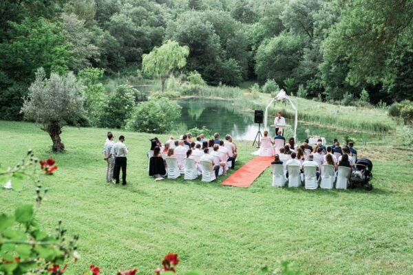 cérémonie Laïque au domaine Montrieux