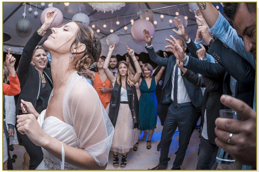 L'entrée des mariés