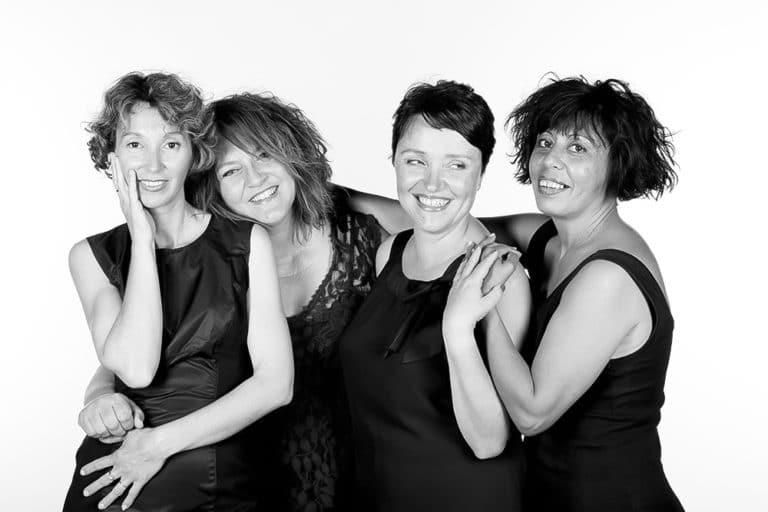 Photographe Portraitiste studio entre copines