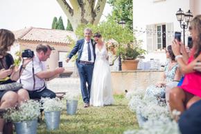 mariage au Lavandou