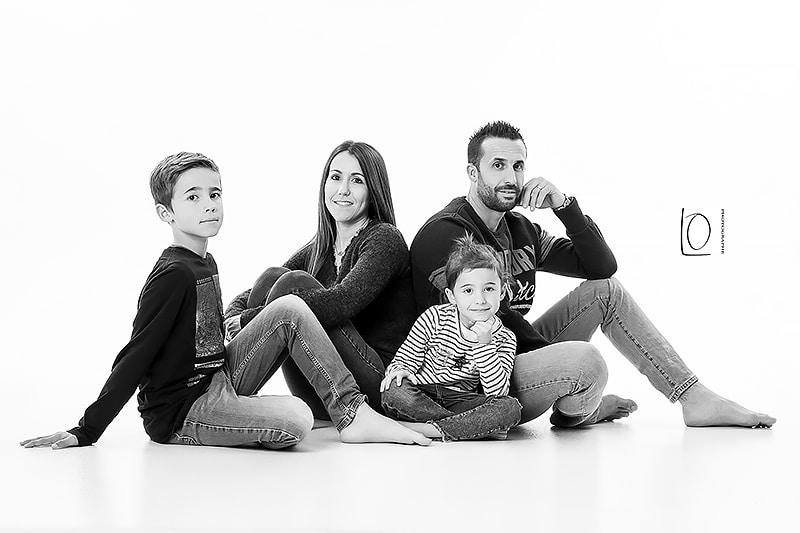 portrait de famille dans le var