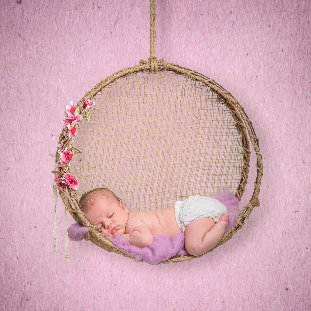 séance photo de bébé