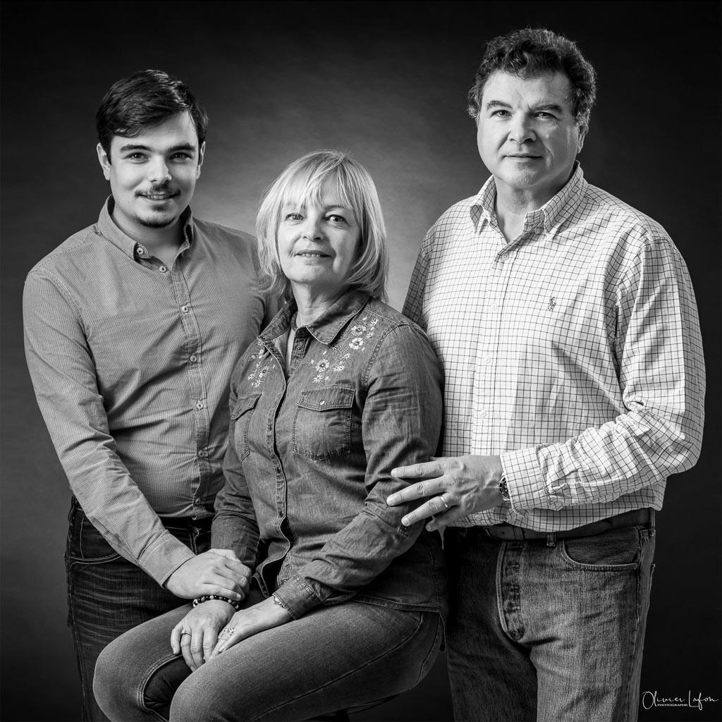 photo de famille dans le Var