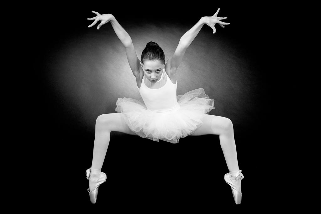 photo de danseuse en studio