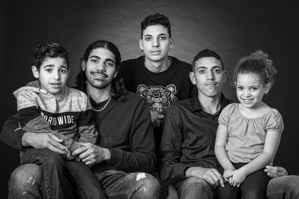 photo de famille au Beausset