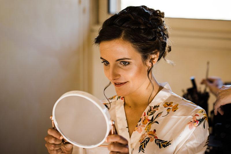 maquillage de mariée dans le Var